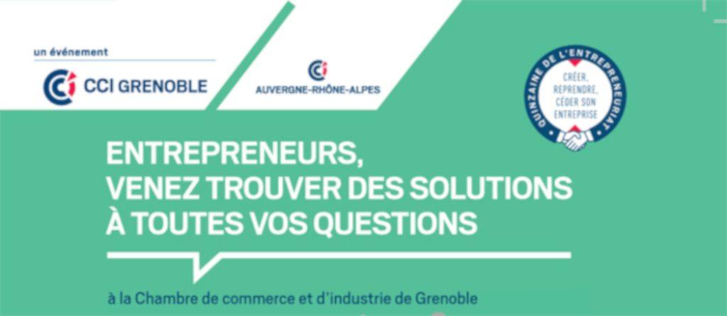Forum Osez l'entreprise le 22 novembre 2018 à Grenoble